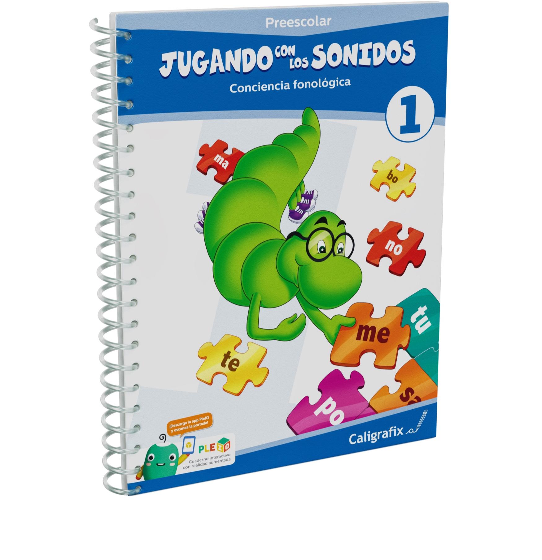Cuaderno Interactivo - Jugando con los Sonidos 1