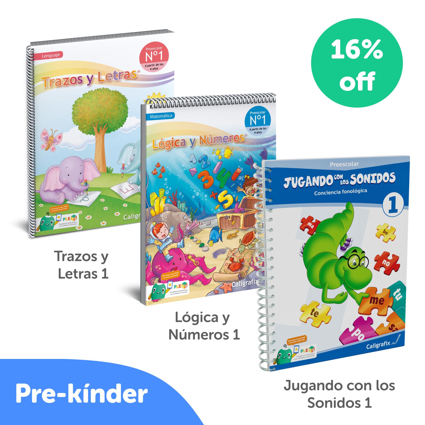 Kit Cuadernos Prekinder Interactivo