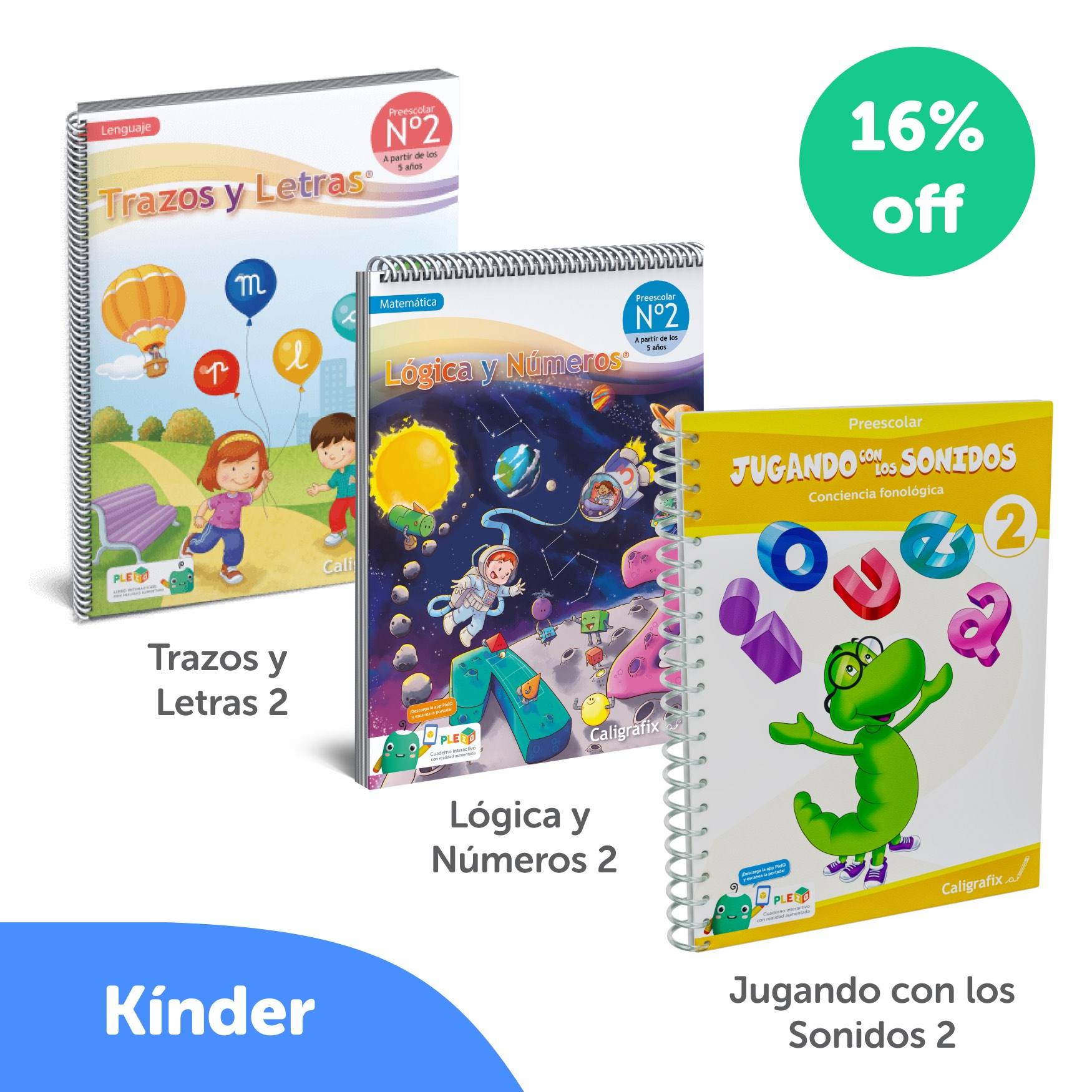 Kit Cuadernos Kinder Interactivo