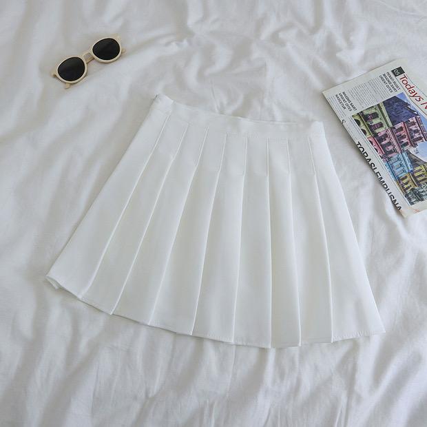 Falda tenis blanca