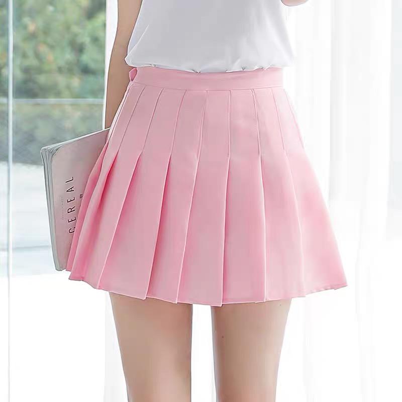 Falda tenis rosa