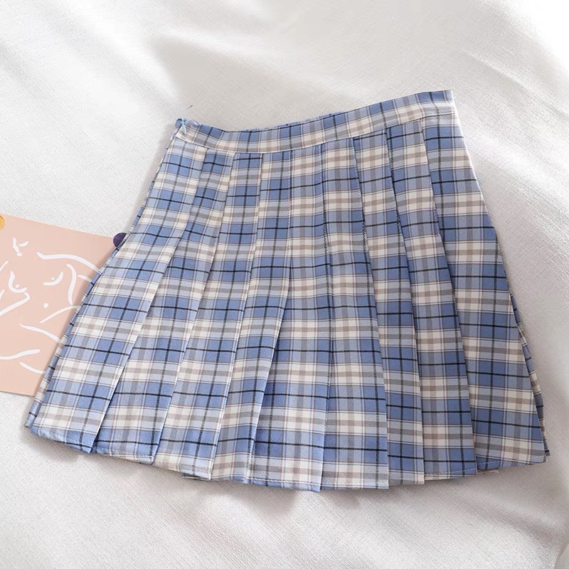 Falda tenis cuadrille azul