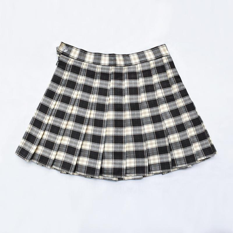 Falda tenis cuadrille negra