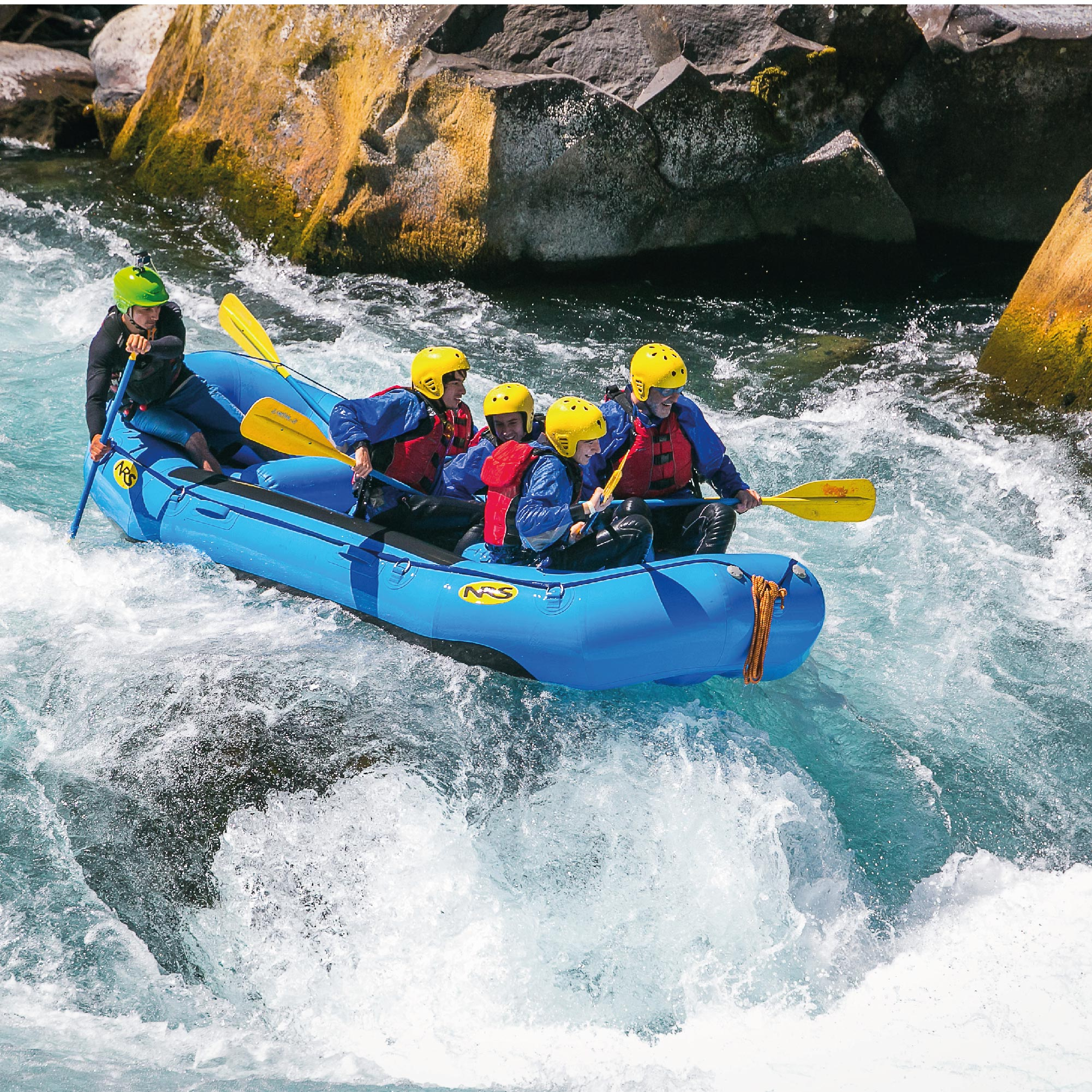 Rafting Río Fuy - 10.00 y 15:30hrs.