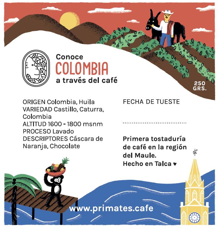 Café Colombia Huila 1 kilo
