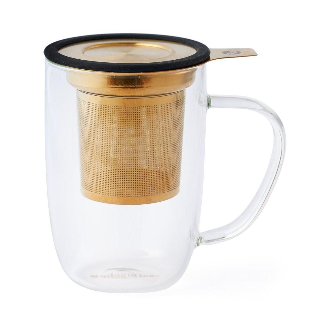 Mug Bhoro Negro Dorado (470ml)