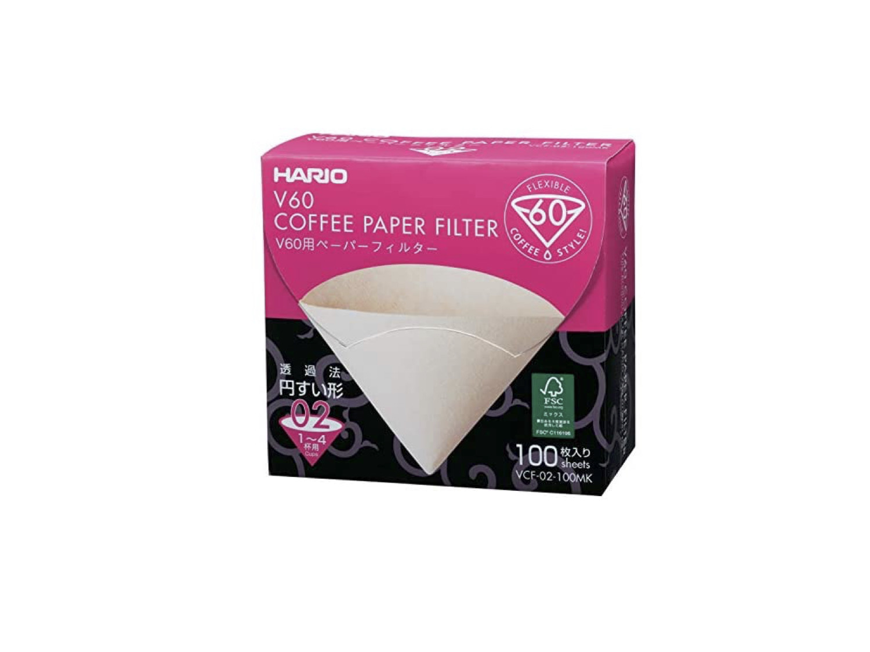 Filtro Papel V60-02 blanco 40 unidades