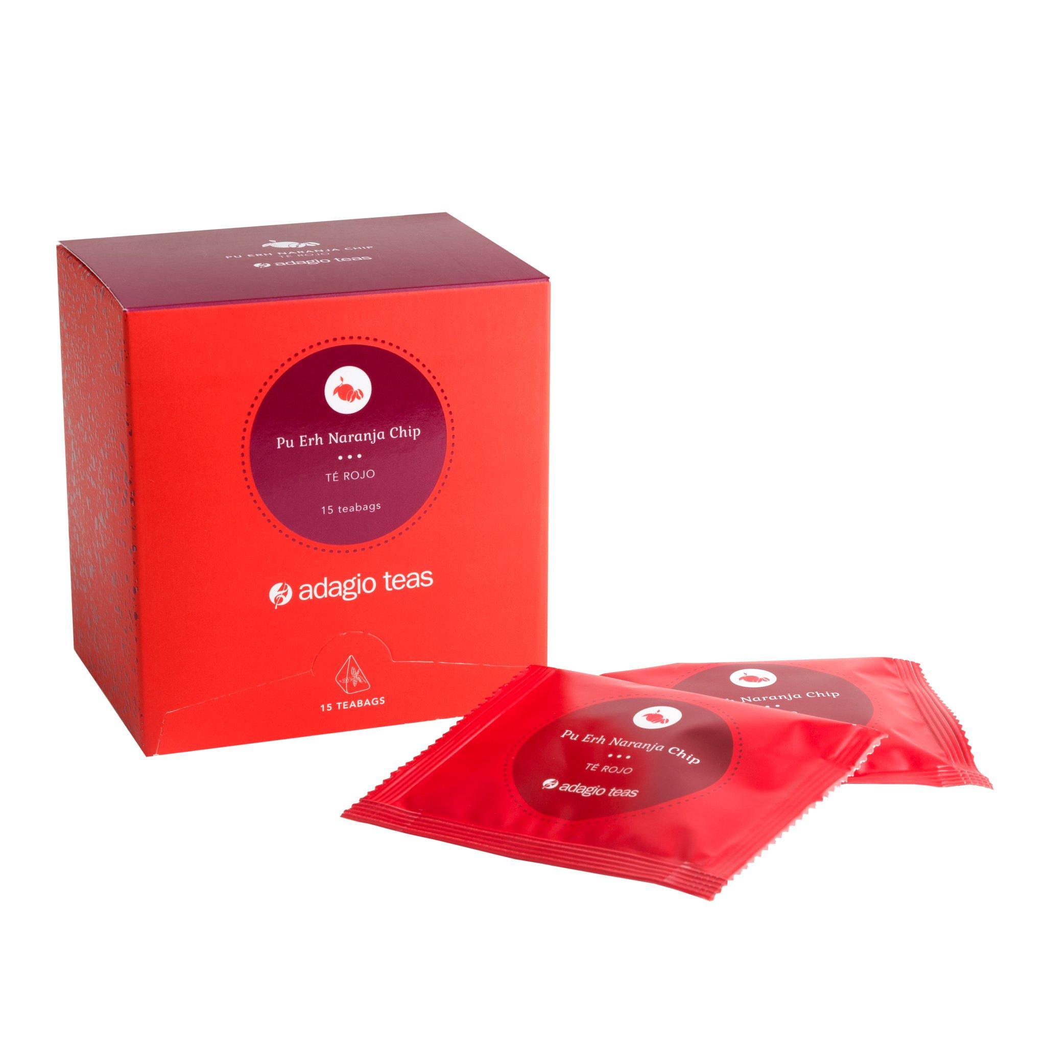 Caja 15 Teabags Pu Erh Naranja Chip