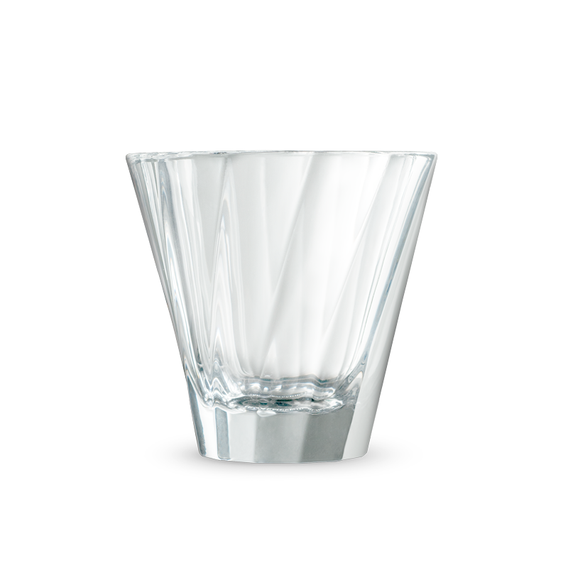 URBAN GLASS - 180ml Twisted Cappuccino Glass