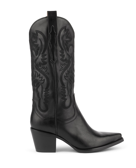 Jeffrey Campbell - Dagget black leather