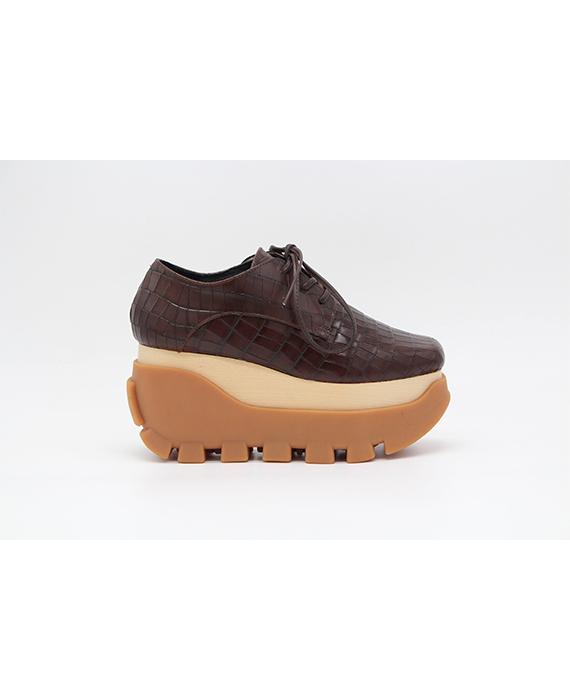 Jeffrey Campbell - Mixe - brown croco