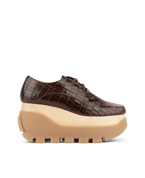Jeffrey Campbell - Mixe - brown croco