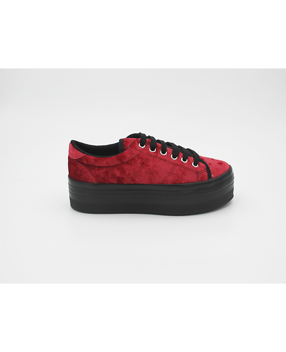 Jeffrey Campbell - Zomg red velvet