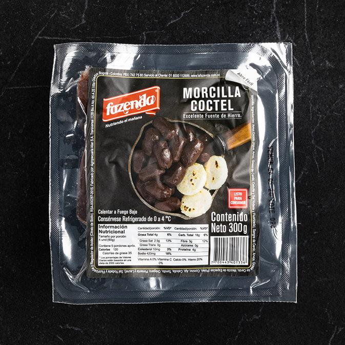 MORCILLA COCTEL 300 GR