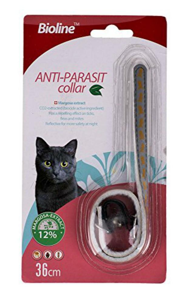 Collar Antiparásitos Gato Bioline