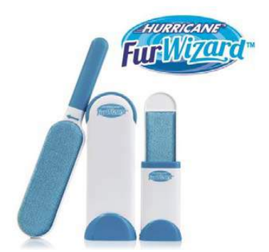 Cepillo Hurricane FUR WIZARD