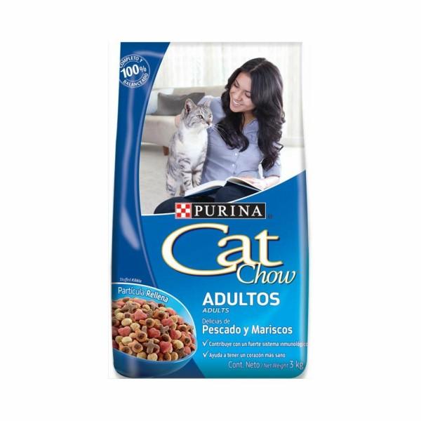 Cat Chow Adulto Pescado 8Kgs