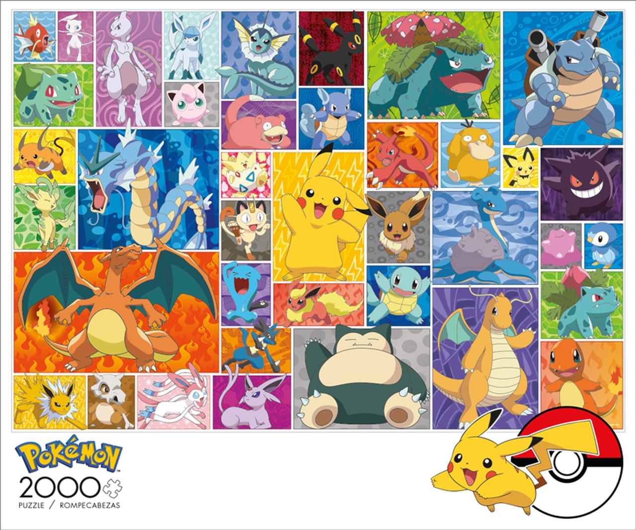 Pokemon Frames   Puzzle Buffalo 2000 Piezas
