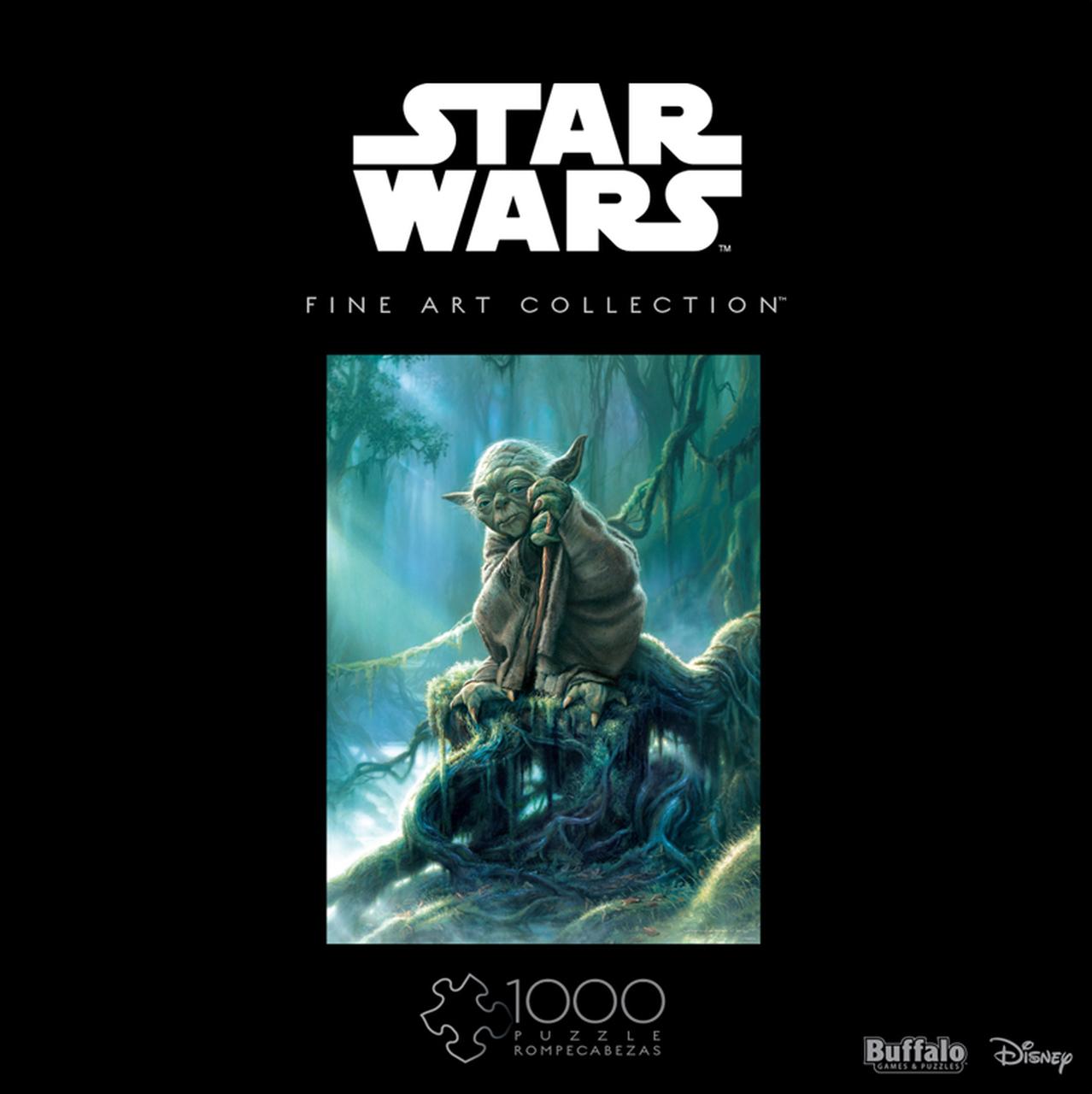 Star Wars Fine Art Collection Yoda   Puzzle Buffalo 1000 Piezas