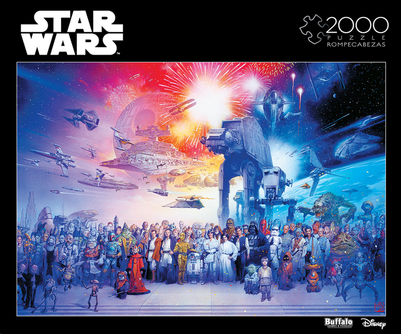 Star Wars You Were the Chosen One   Puzzle Buffalo 2000 Piezas