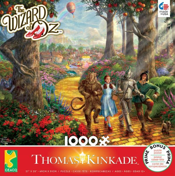 Follow the yellow brick road | Puzzle Ceaco 1000 Piezas