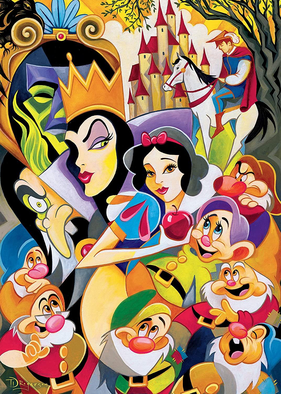 The enchantment of snow white  Puzzle Ceaco 1000 Piezas
