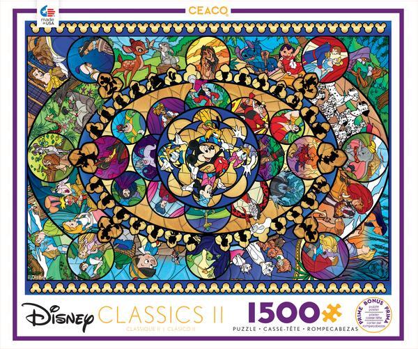 Disney Classics II   Puzzle Ceaco 1500 Piezas