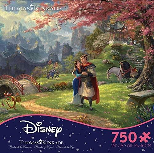 Disney Mulan Florece el Amor   Puzzle Ceaco 750 Piezas