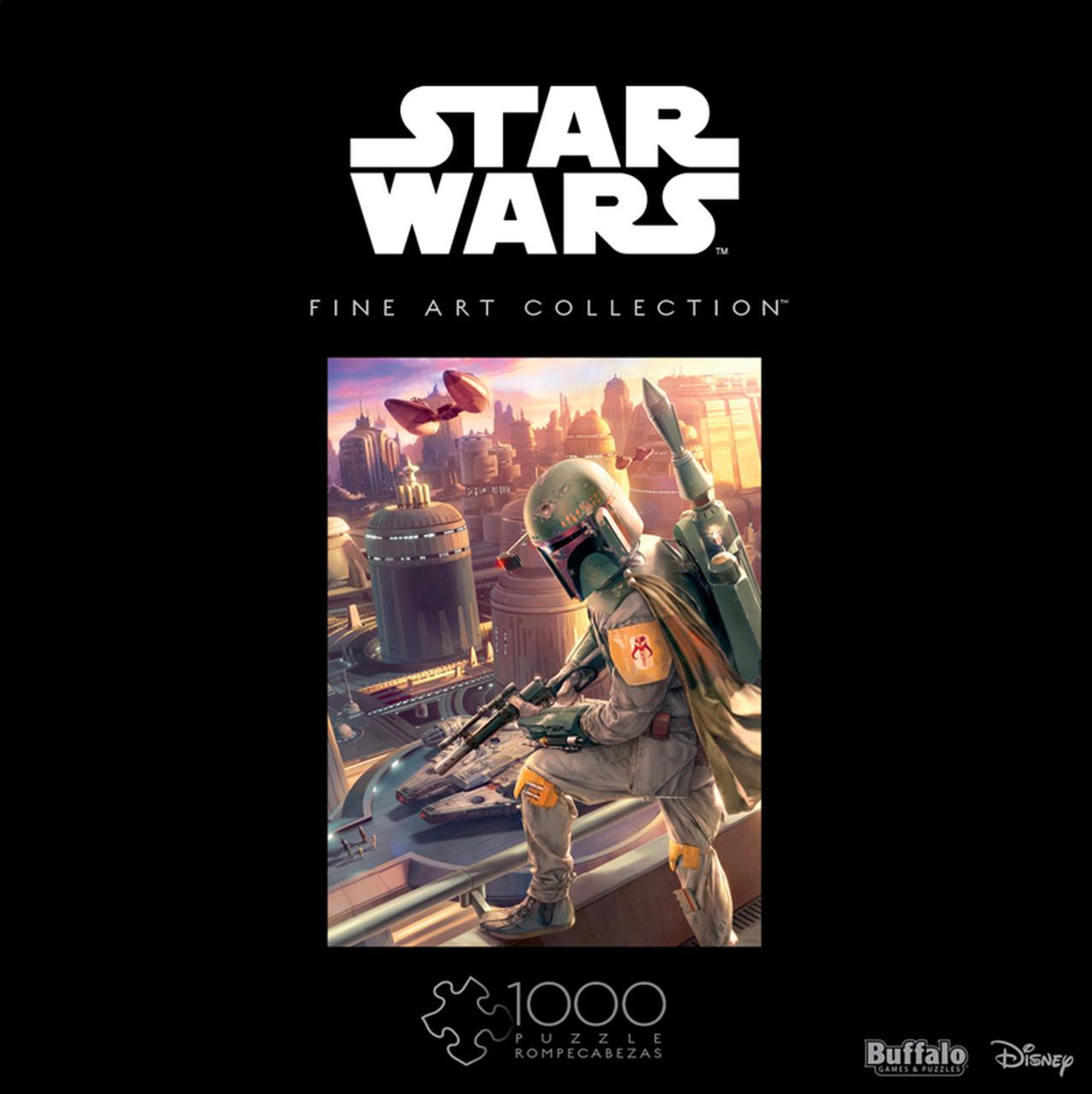 Star Wars Fine Art Collection Boba Fett | Puzzle Buffalo 1000 Piezas