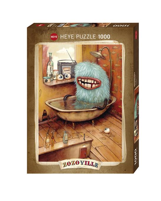 Zozoville Bathtub   Puzzle Heye 1000 Piezas