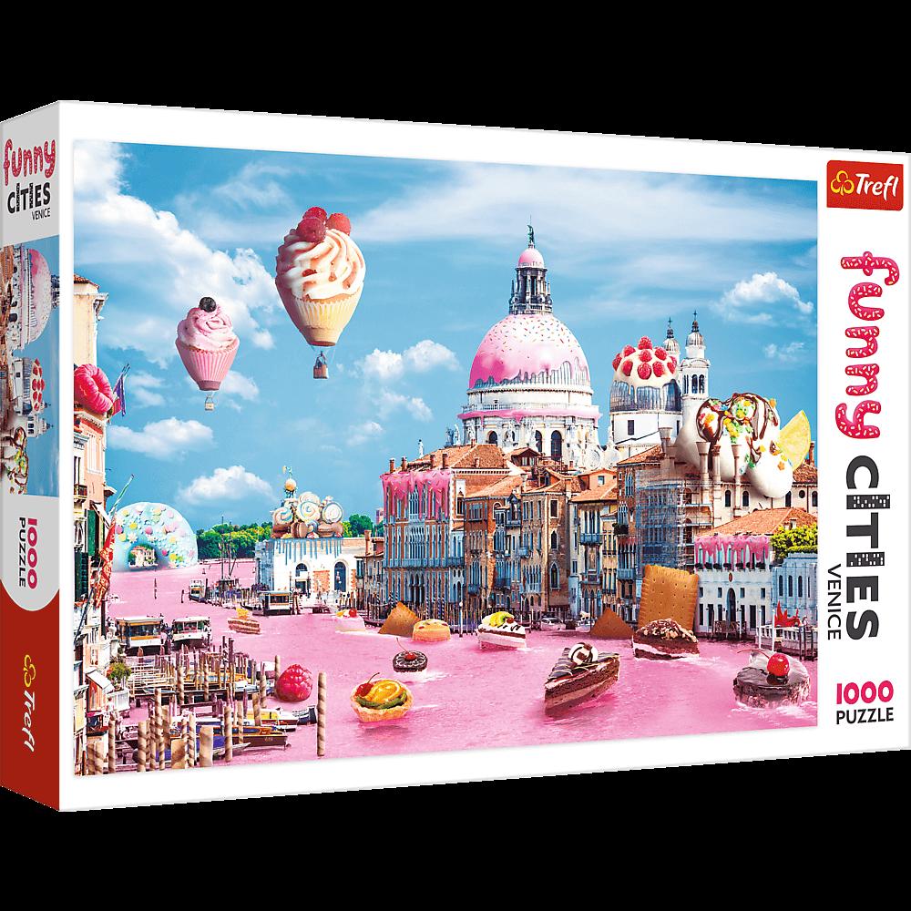 Funny Cities Sweet Paris | Puzzle Trefl 1000 Piezas