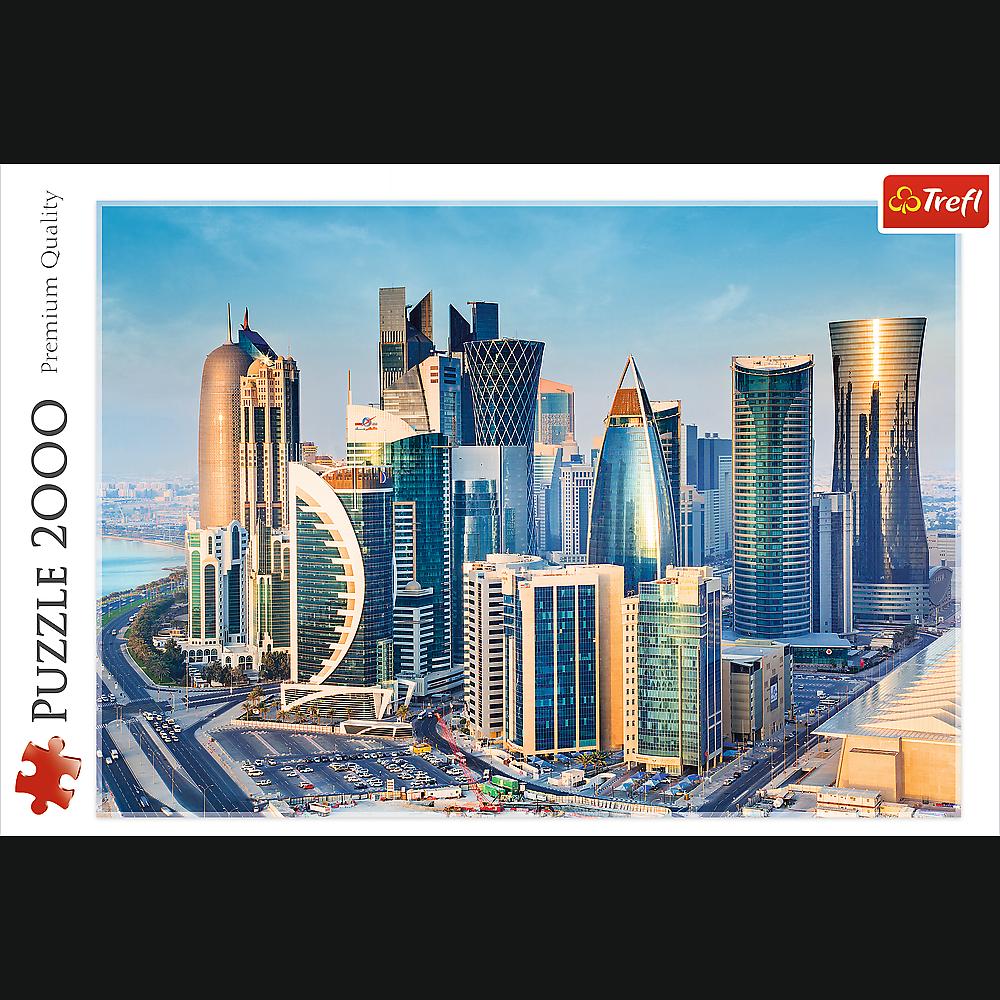 Doga, Qatar   Puzzle Trefl 2000 Piezas