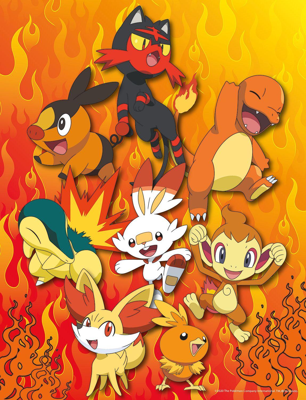 Pokémon Multipack 4 en 1   Puzzle Buffalo 300 y 500 Piezas