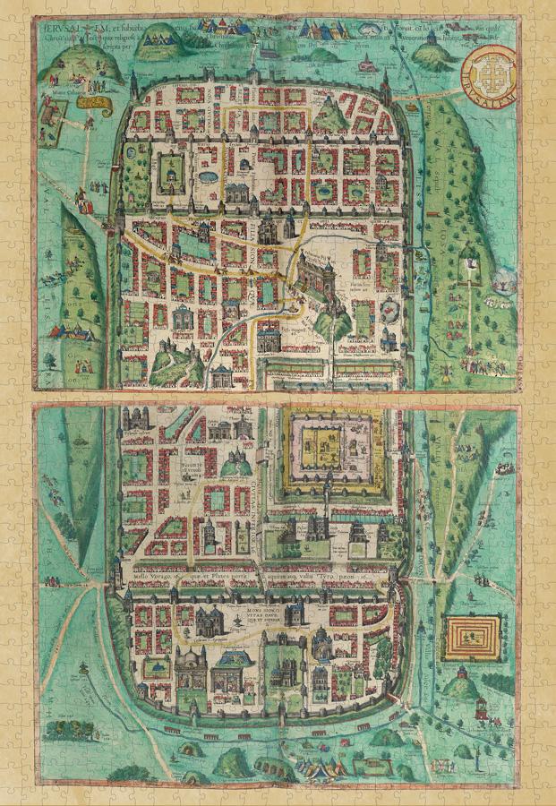 Jerusalem   Puzzle Pomegranate 1000 Piezas