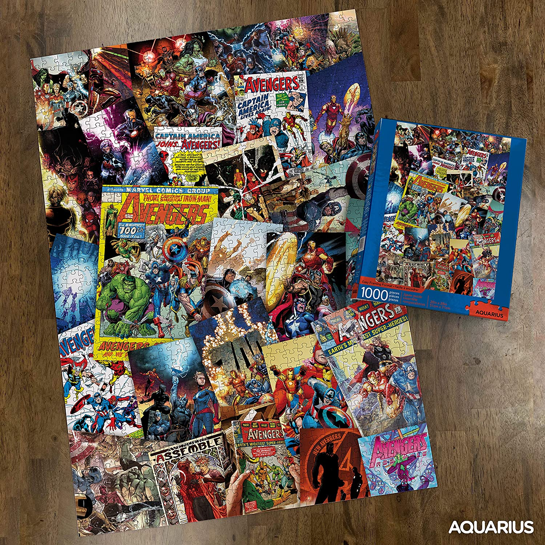 Marvel Avengers Cast   Puzzle Aquarius 1000 Piezas