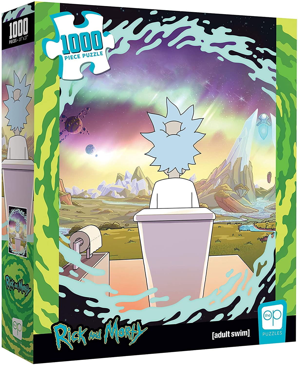 Rick and Morty Shy Popper   TheOP Games 1000 Piezas
