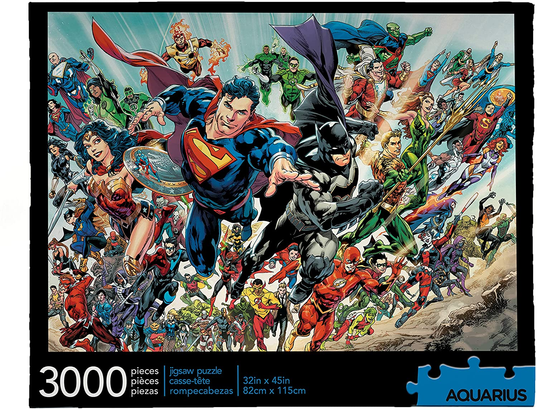 DC Comics   Puzzle Aquarius
