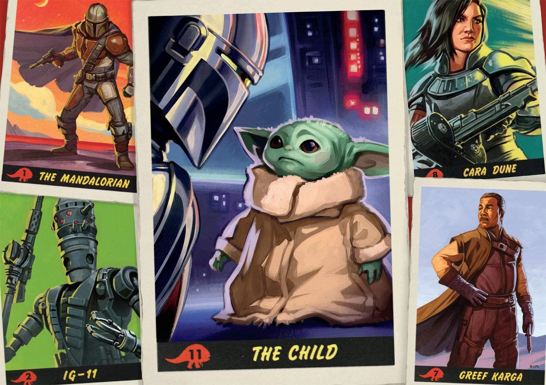 Star Wars The Mandalorian l Buffalo 500 Piezas