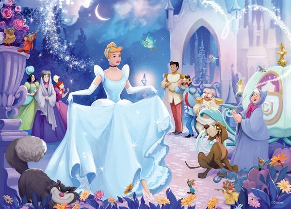 Disney, Deseos de La Cenicienta | Puzzle Ceaco 1000 Piezas