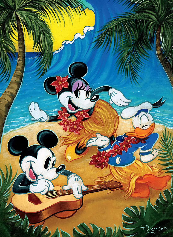 Disney Classic 3, Multipack 5 en 1   Puzzle Ceaco (1x750) (2x500) (2x300) Piezas