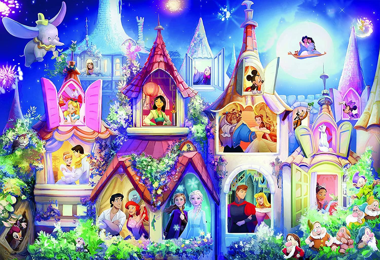 Disney Princess Castle  | Puzzle Ceaco 2000 Piezas