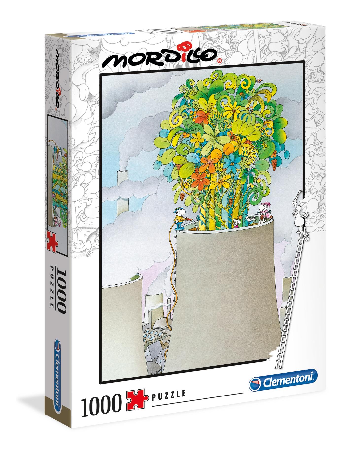 Mordillo La Cura   Puzzle Clementoni 1000 Piezas