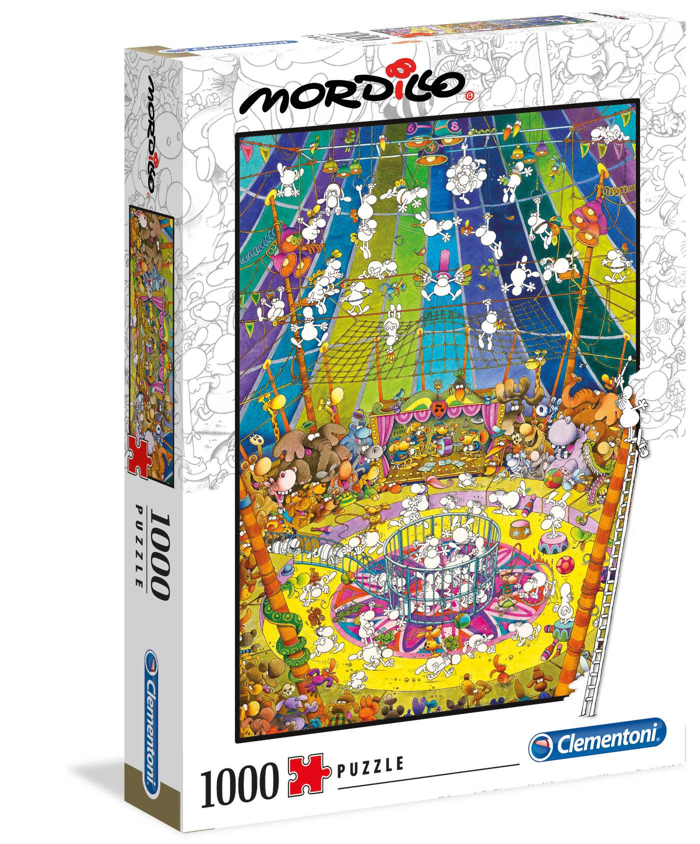 Mordillo El Show | Puzzle Clementoni 1000 Piezas