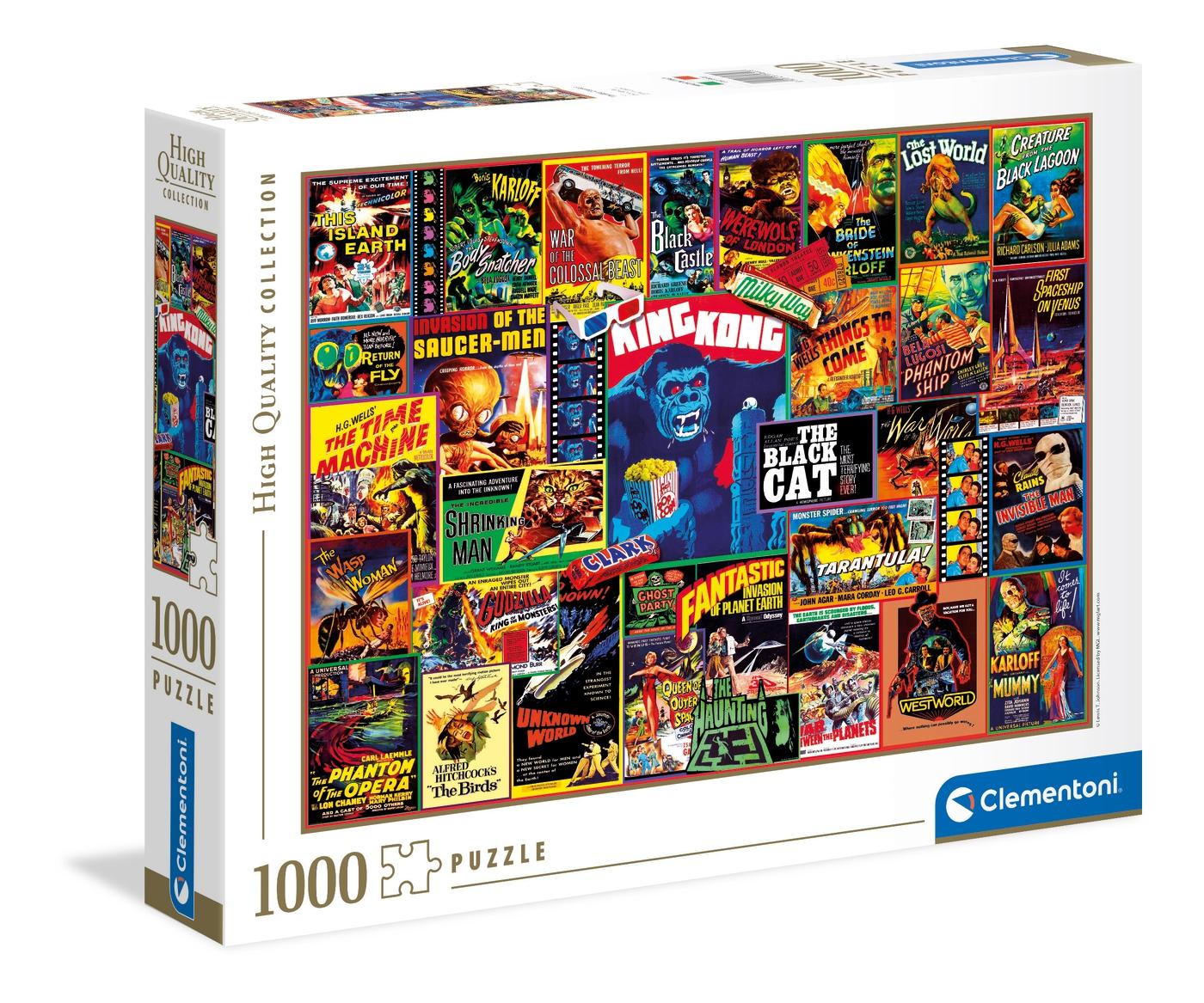Thriller Classics | Puzzle Clementoni 1000 Piezas
