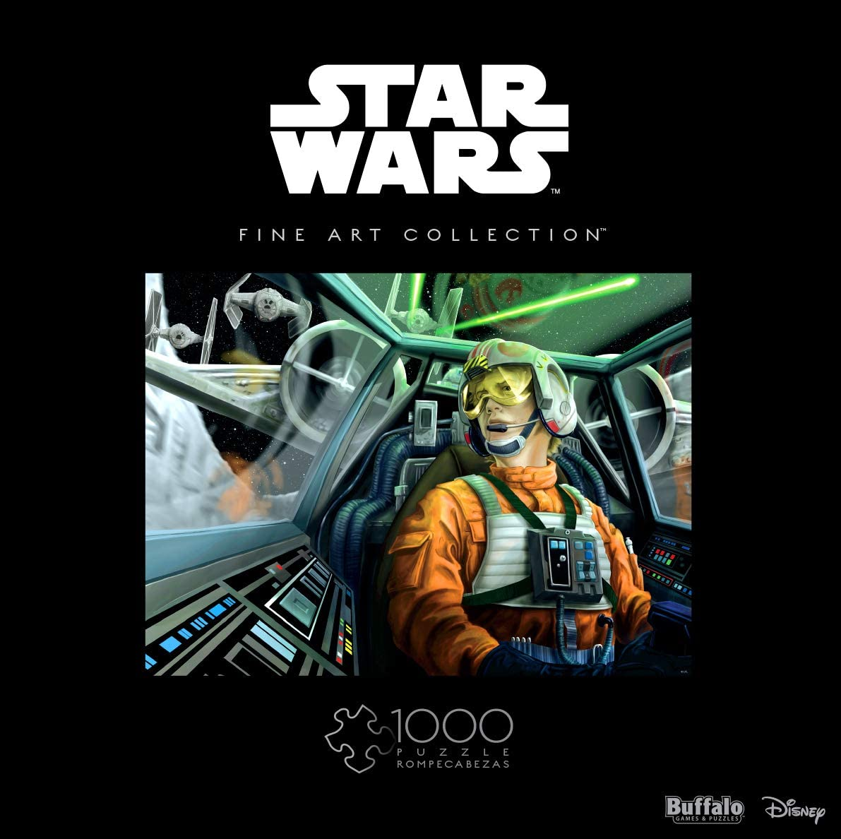Star Wars Baptism by Fire   Puzzle Buffalo 1000 Piezas