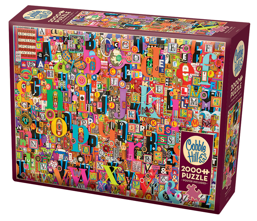 Shelley's ABC | Puzzle Cobble Hill 2000 Piezas