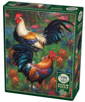 Roosters   Puzzle Cobble Hill 1000 Piezas