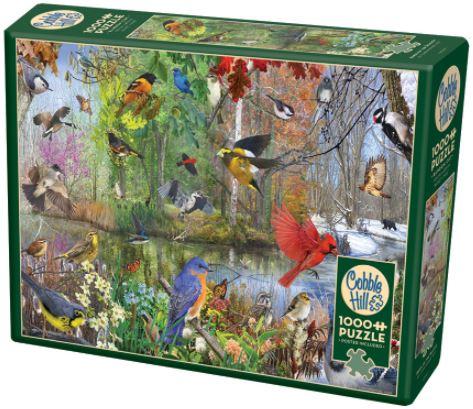 Birds Of The Season | Puzzle Cobble Hill 1000 Piezas