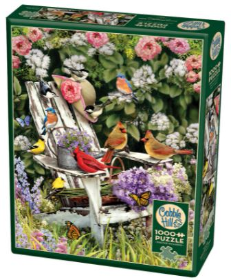 Summer Adirondack Birds | Puzzle Cobble Hill 1000 Piezas
