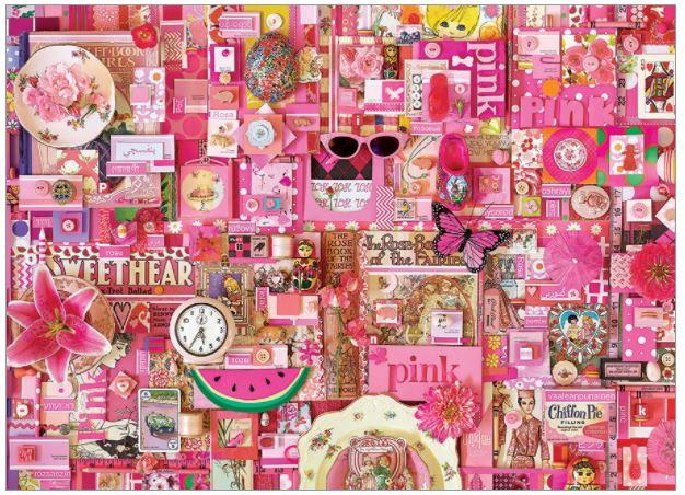Pink | Puzzle Cobble Hill 1000 Piezas
